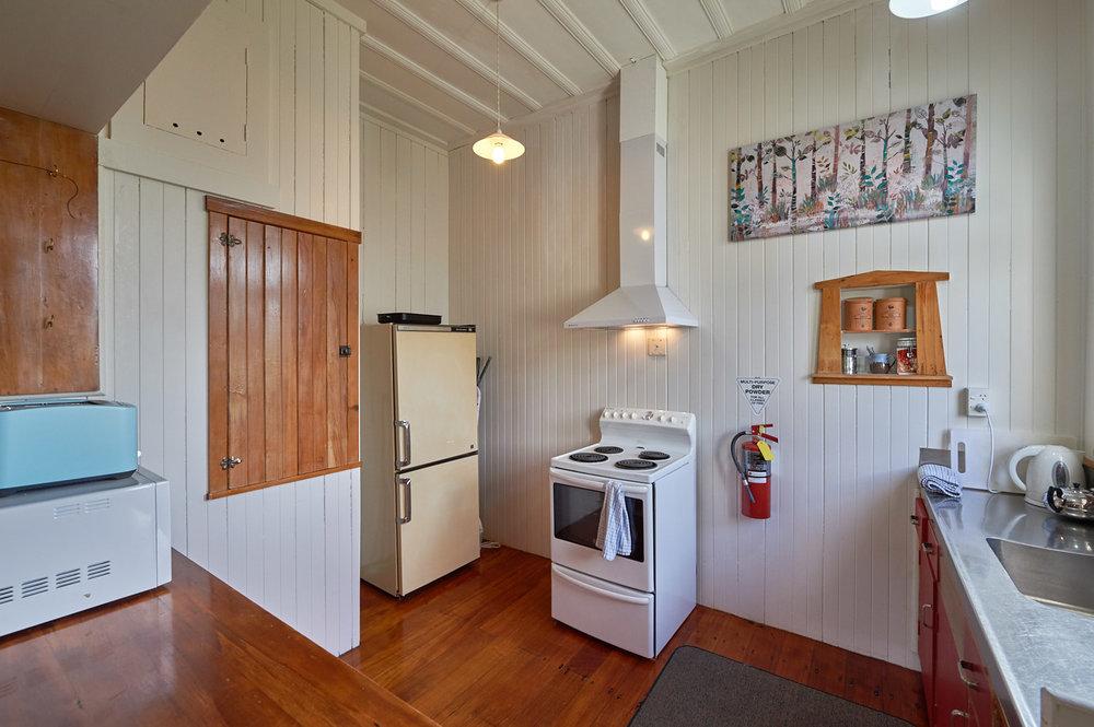 Glenluce's kitchen.
