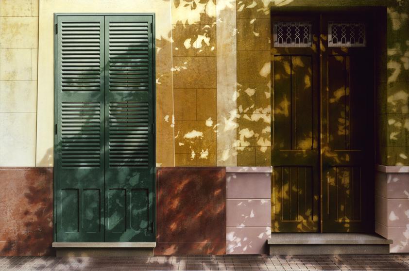 Street Scene, Minorca