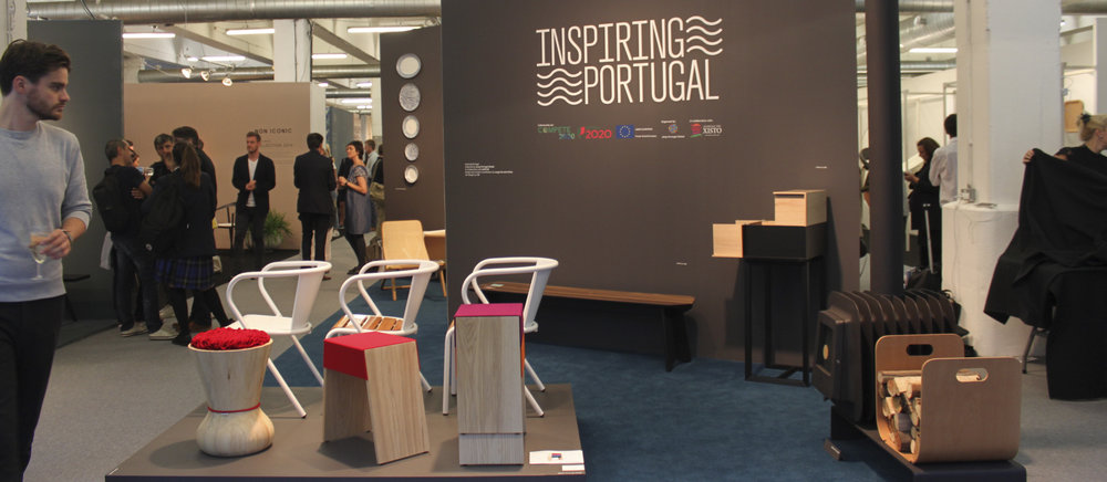 Front View of the Inspiring Portugal Stand