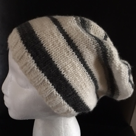 Stripes for a Friend Hat by Paula