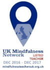 Listed Teacher on the UK Mindfulness Network