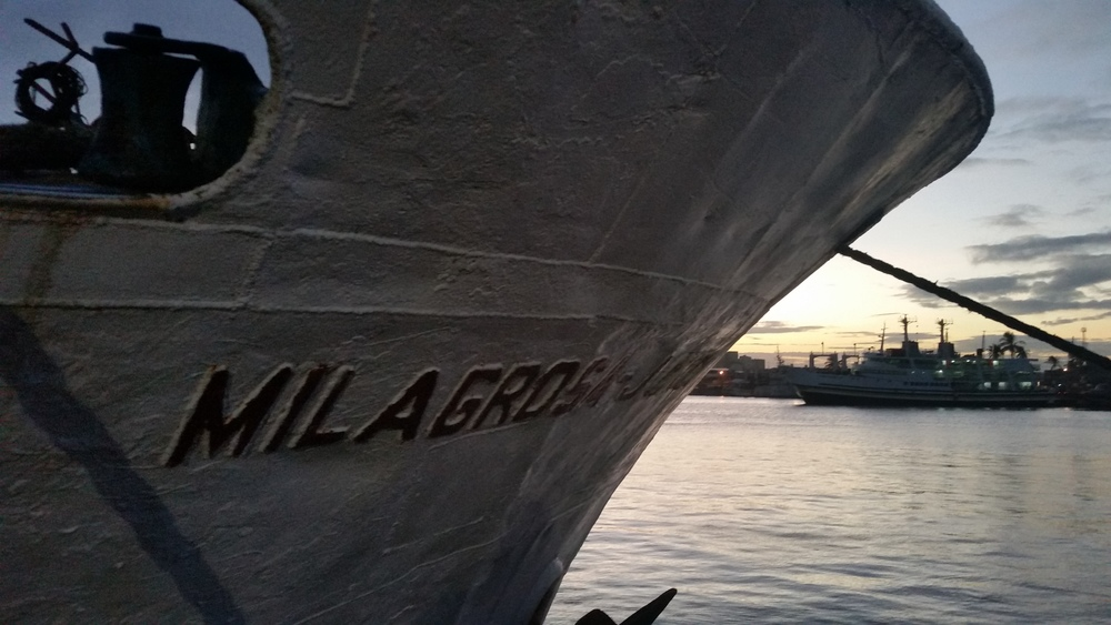 milagrosa ship! 36 hours to Puerto!