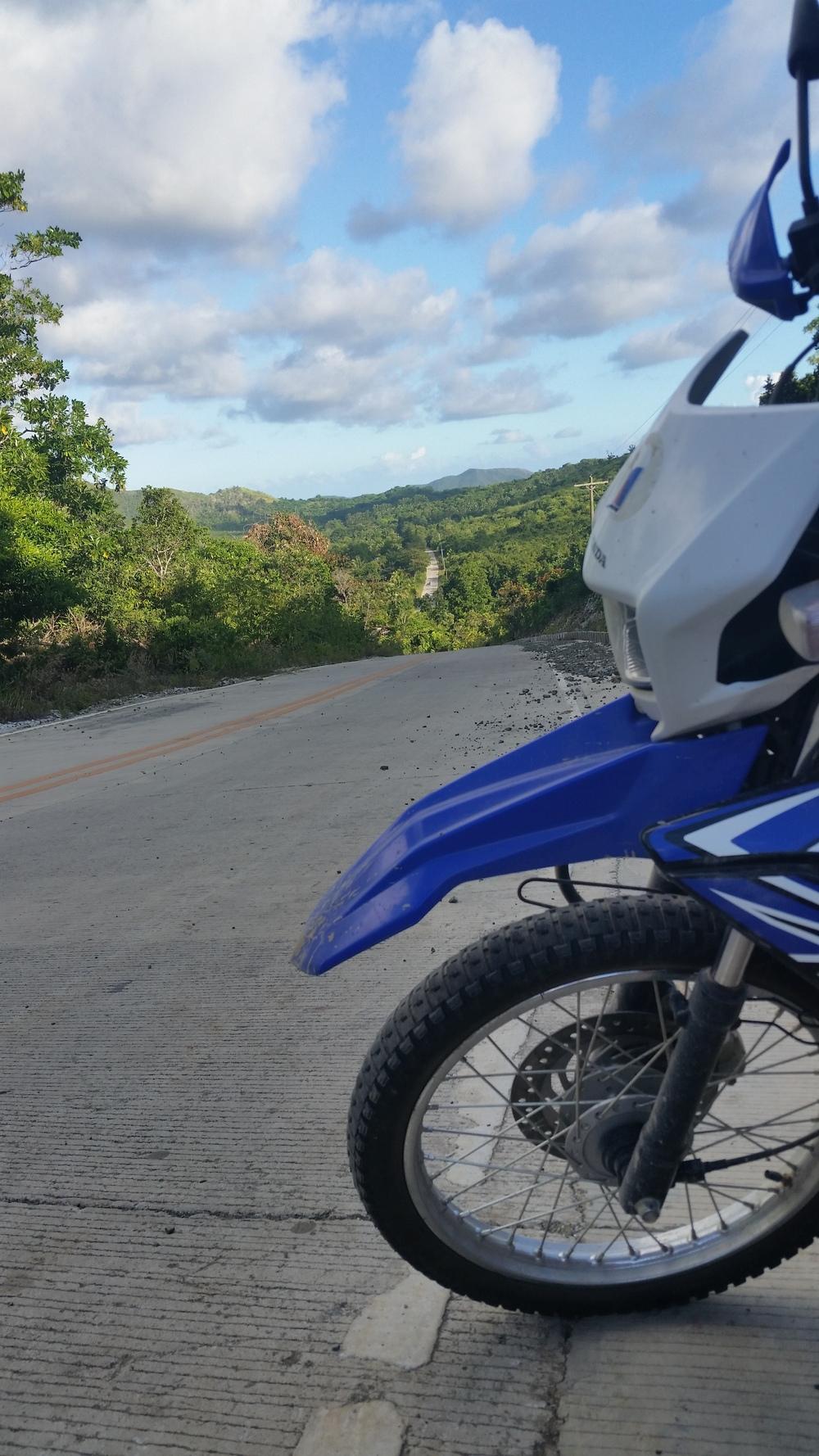 motorbike gang.