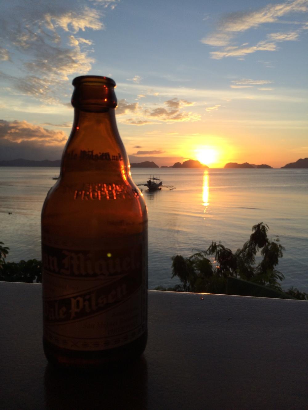 sunset at Republica