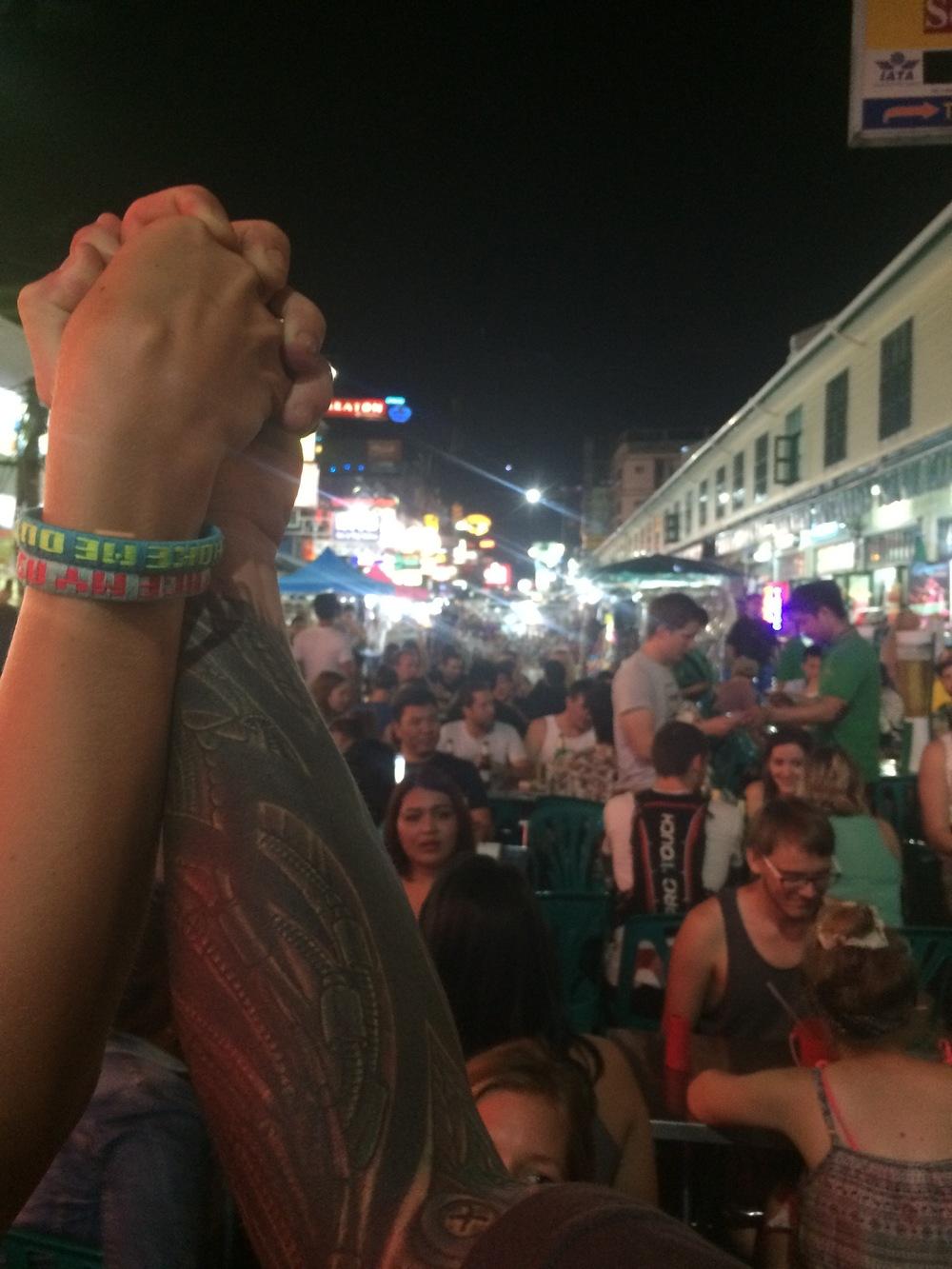 Sexy Khao San Rd. bracelets...