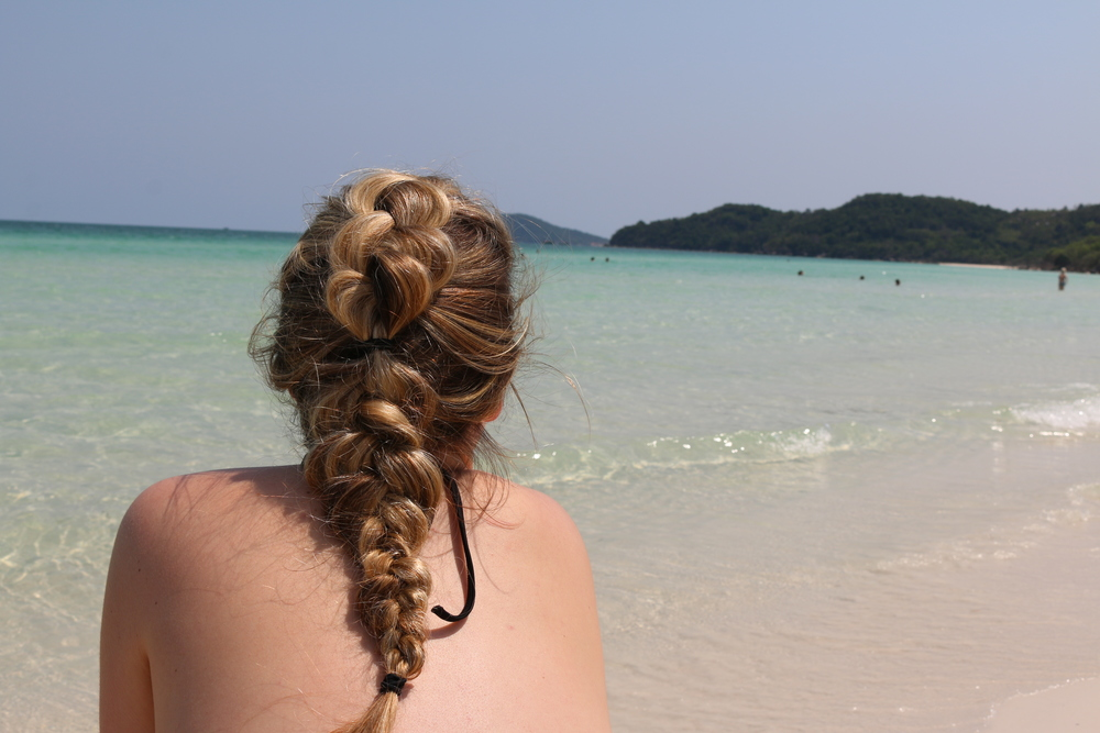 Maggie + pretty braids