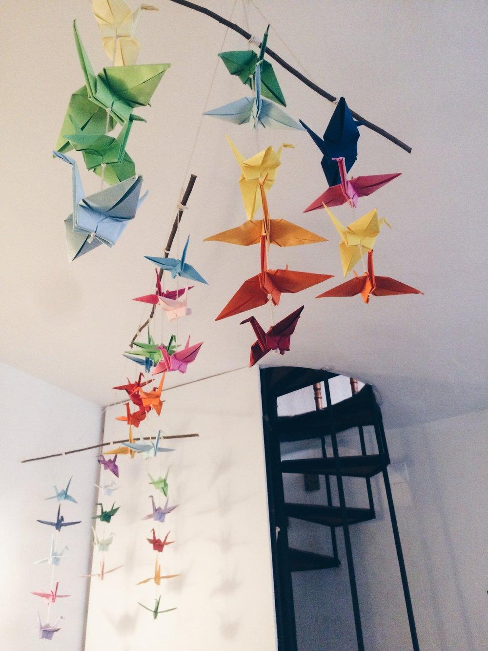 paper-cranes-digital-nomad-marketing-dog-rescue