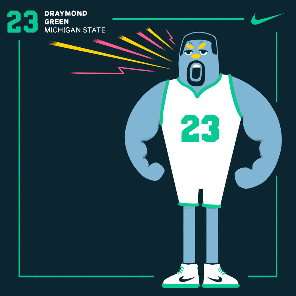 Champions Mentality-Draymond Green-Chris-Edser-Nike
