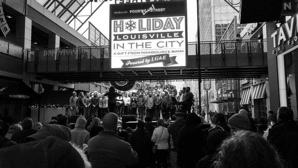 Holiday in the City 2016 - 1200LLC® curated and programmed live music and entertainment for Holiday in the City in winter of 2016.