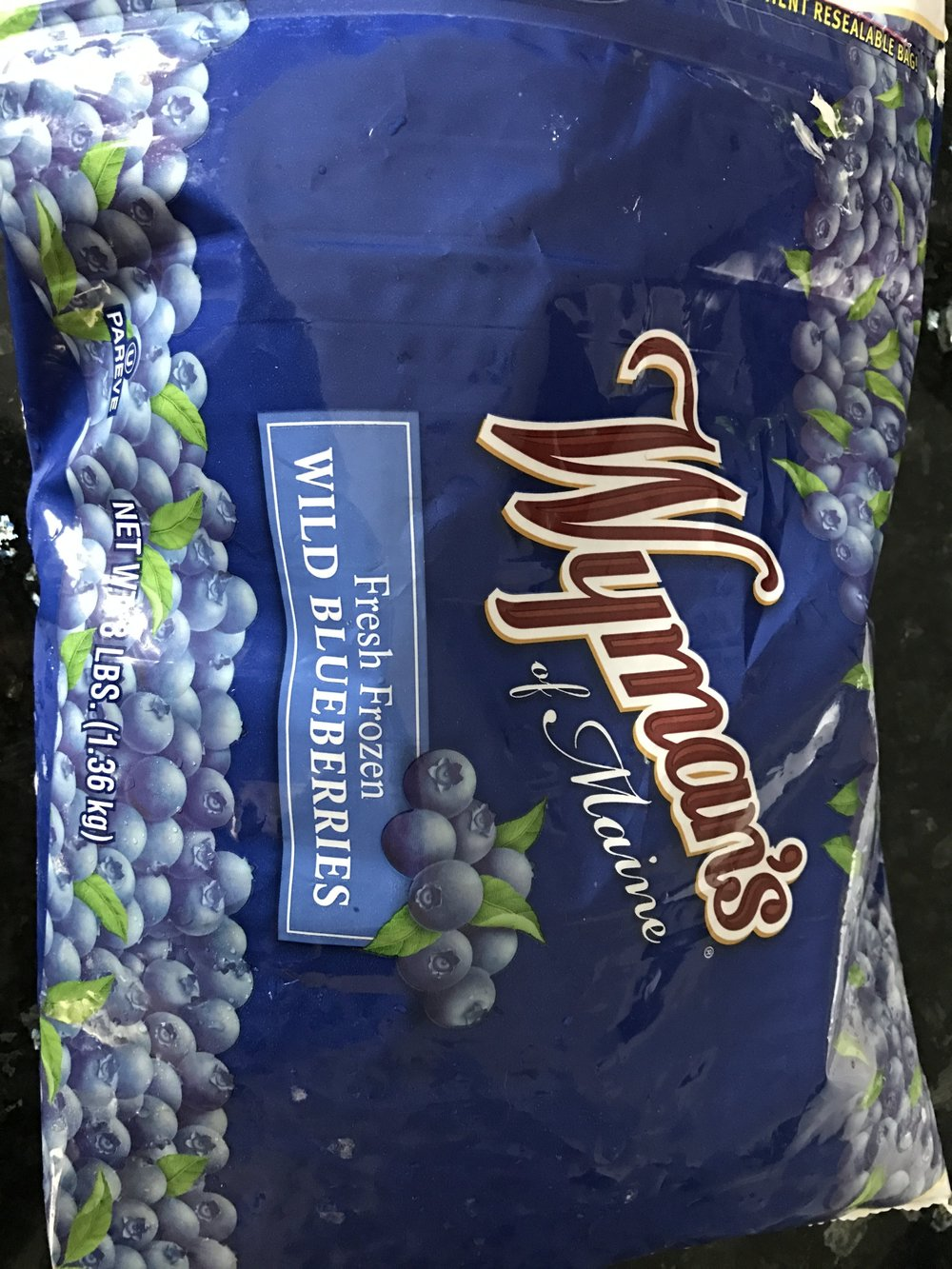 Look for frozen Wild Blueberries, in the freezer section of the grocery store!