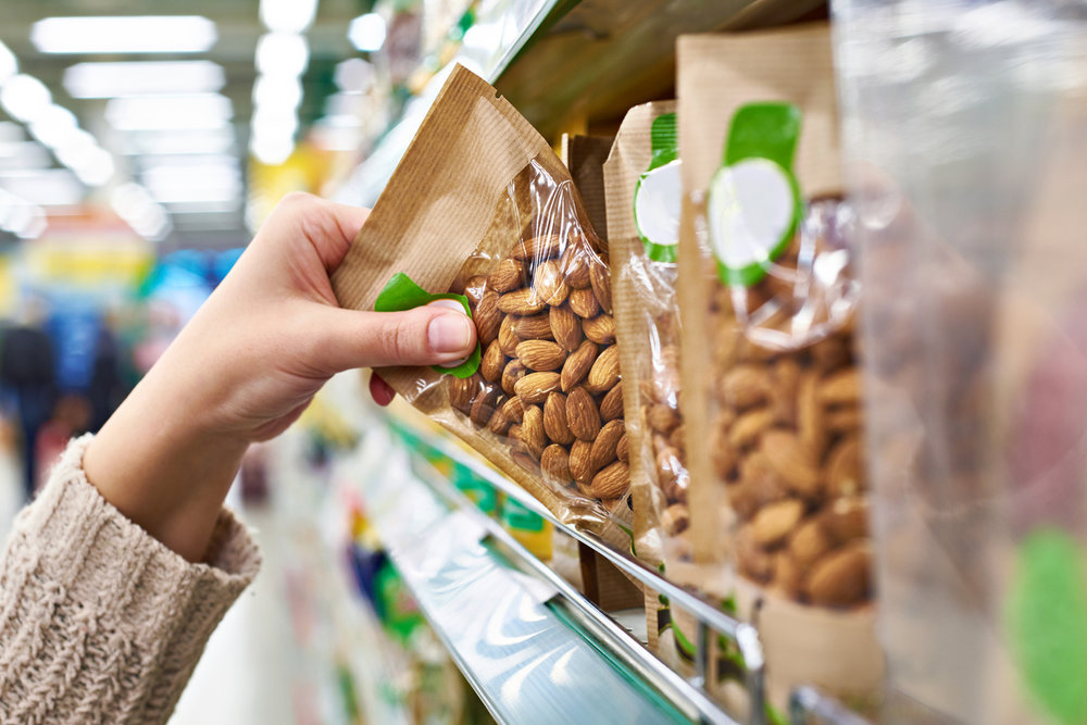 Stock up on healthier snacks!