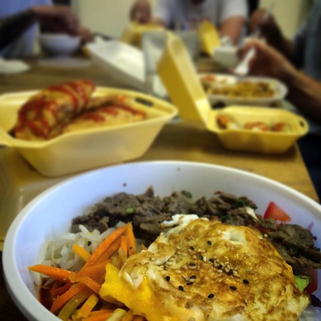 Fat Friday = 'Food, Gangnam Style'. AMAZING!!! #fatfriday #leatherlane @foodgangnam