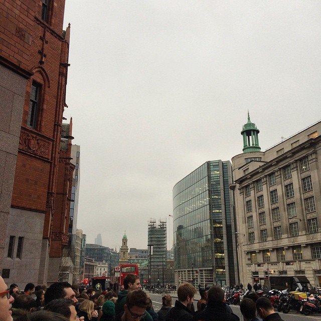 The solar eclipse party has been gate crashed by clouds #solareclipse #weather (at One Big Company)