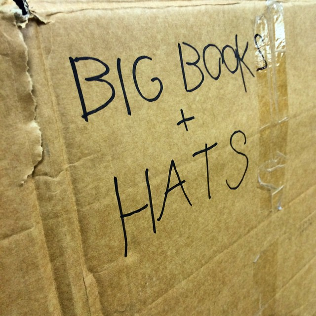 We've been unpacking, found the essentials #hatshatshats #hatfriday