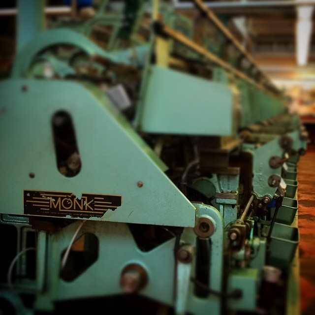 On our way back from a very informative and enjoyable trip to @johnsmedleyknitwear