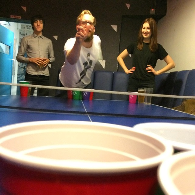 Beeeeeeeerpong! (at Blueberry)
