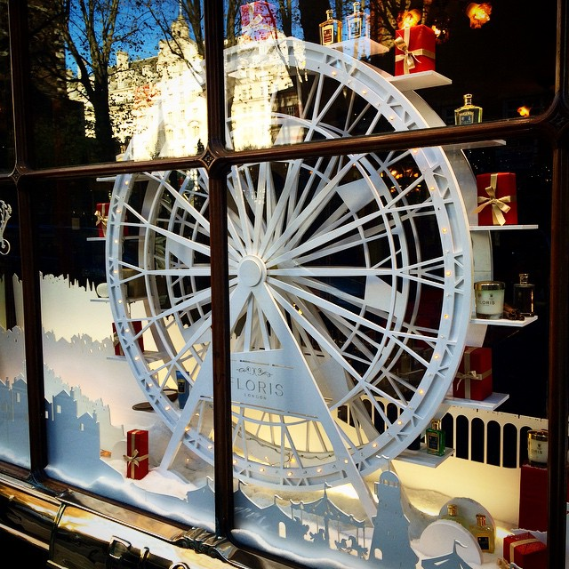 Loving the @florislondon Christmas window #ItsBeginningToLookALotLikeChristmas