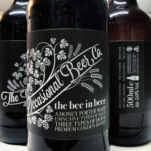 Some beer labels we designed for the homebrewing exploits of @daveuprichard #craftale #homebrew