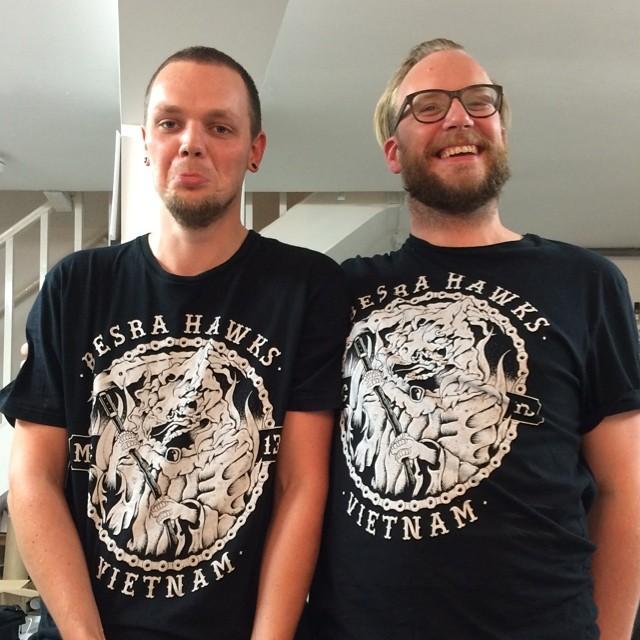 T-shirt buddies #twins #besrahawks
