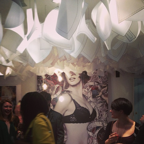 Maison Triumph Launch Party, great fun had all round #maisontriumph #womeninmaking