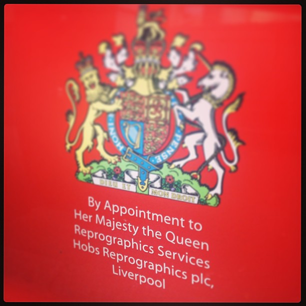 So a fancy way of saying you do the Queen's photocopying?