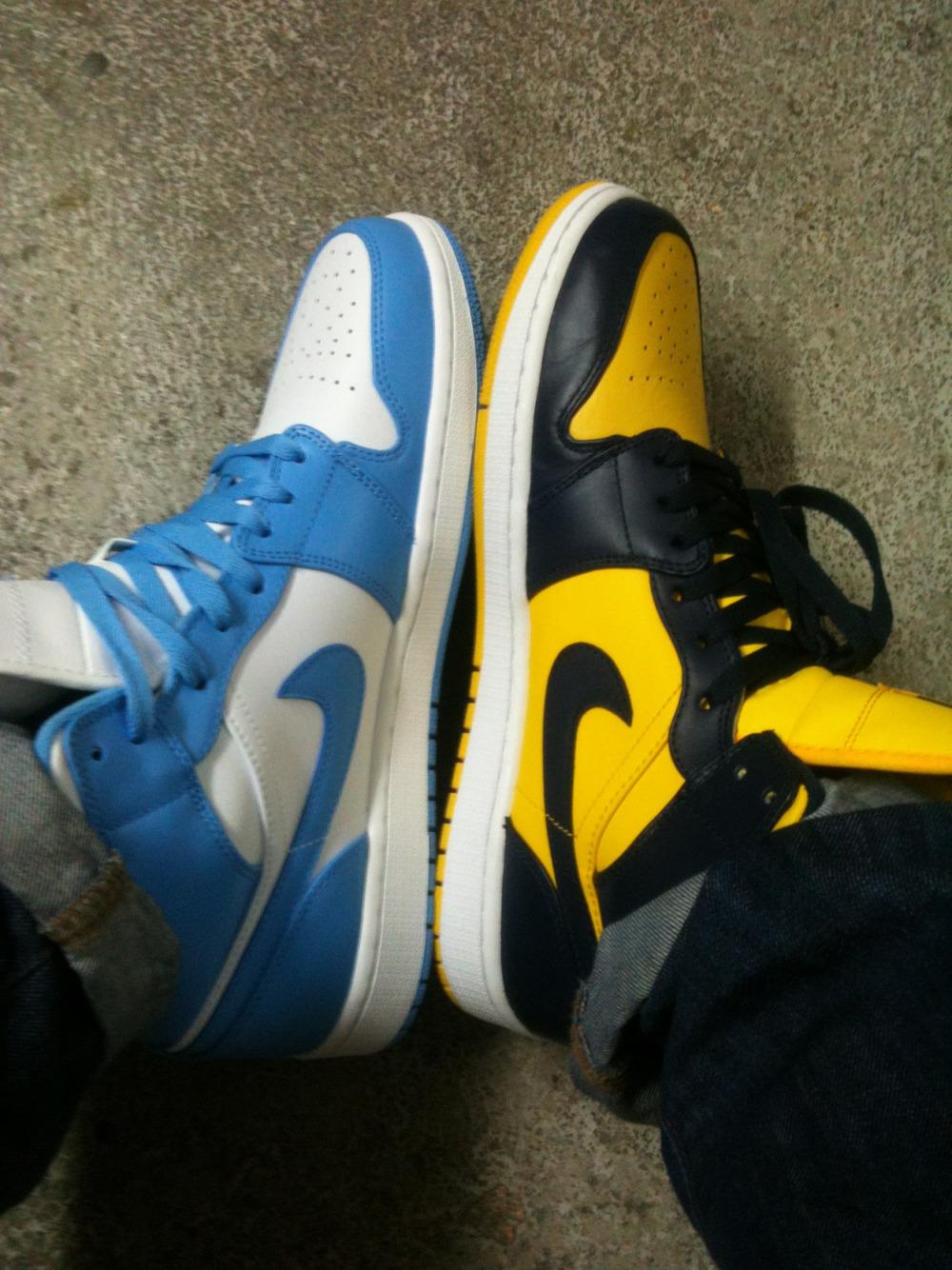 It's new shoe Thursday for Neil
