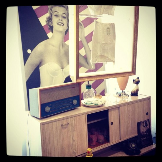 We've just popped down the road to Covent Garden to check out the @TriumphLingerie Maison Triumph pop-up.