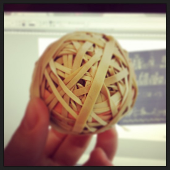 Who needs an office pet when you've got an office elastic band ball? Keep an eye on the blog for your latest Elastic Band Ball news.