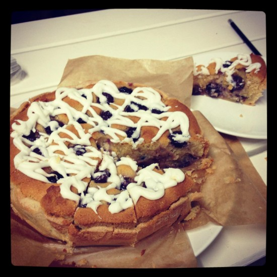 One Big Bakeoff - Week 2 This week it's Stef's 'Take on a Bakewell' with homemade pastry and real vanilla – is she trying to gain points for technical merit?
