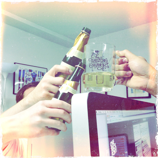 Big thanks to Reubeno – the freshest SK8 brand on the block – for our late-afternoon Champagne treats.