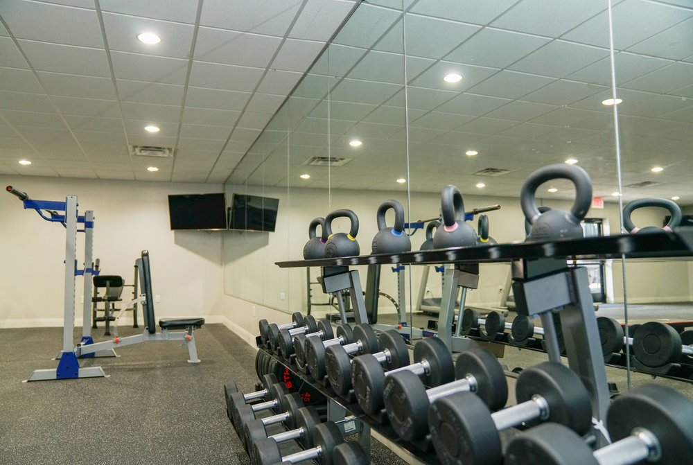 FITNESS CENTER  NO MEMBERSHIP NEEDED  Who needs a gym membership when you have 24/7 access to our brand new and spacious Fitness Center.
