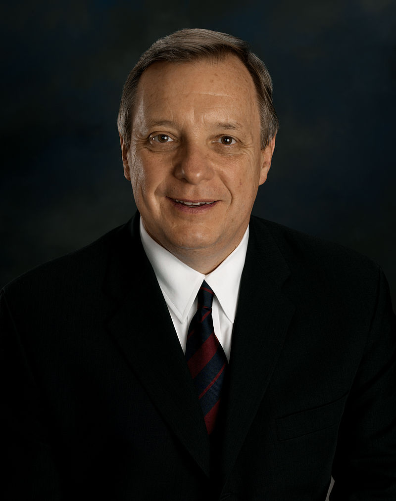 Senator Richard J. Durbin (D-IL) Elected 1996 B.S.F.S. Georgetown University (1966) J.D. Georgetown University (1969)