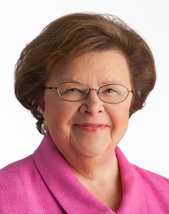 Senator Barbara A. Mikulski (D-MD) Elected 1986 B.A. Loyola University Maryland (1958)