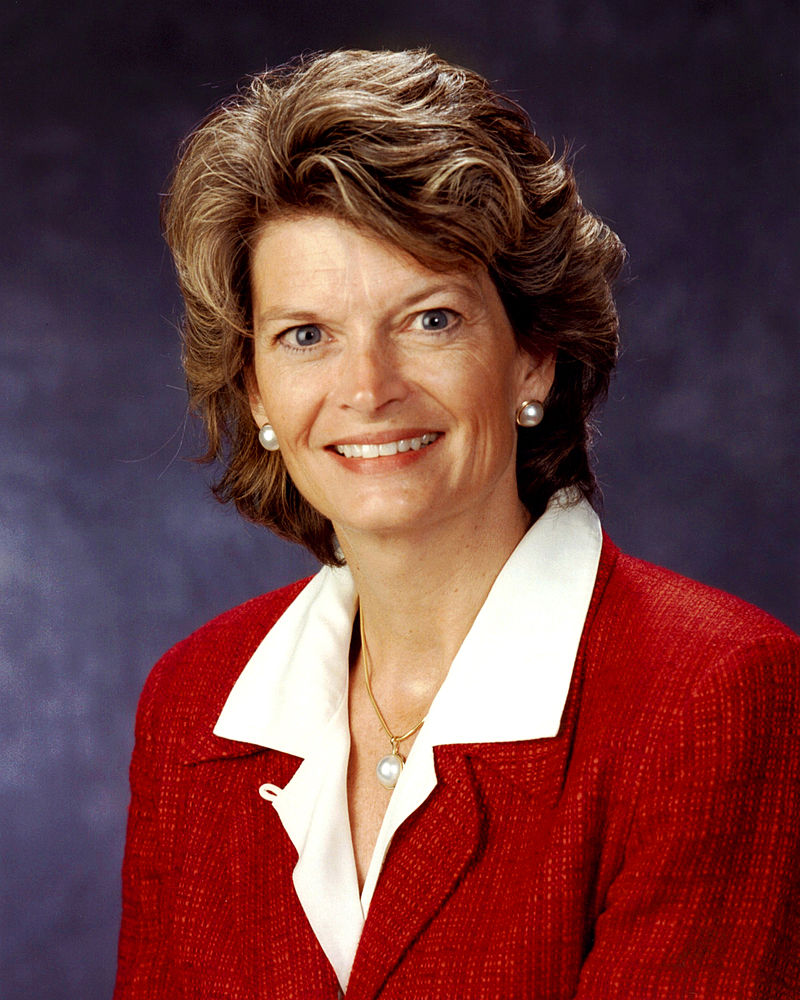 Senator Lisa Murkowski (R-AK) Appointed 2002, Elected 2004 B.A. Georgetown University (1980)