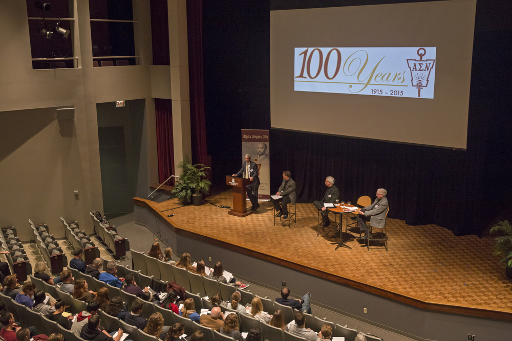 AJCU Presidents Panel at Marquette University (Photo courtesy of ASN).