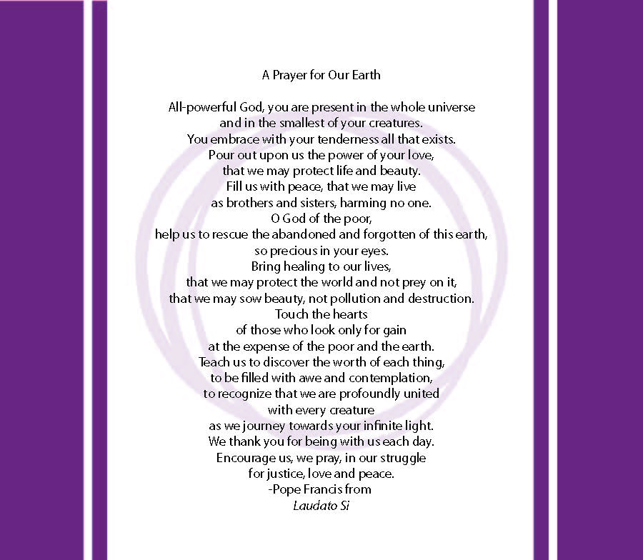 A Prayer for Our Earth (Seattle University)