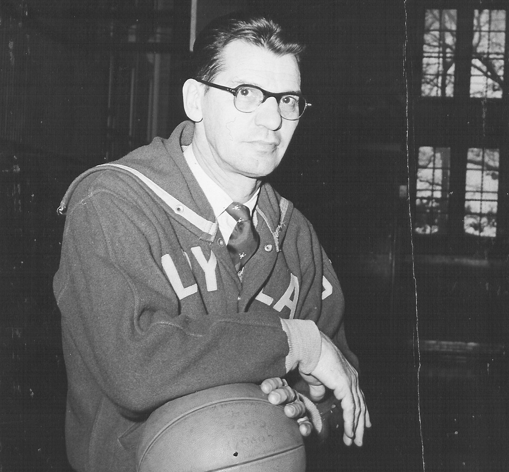 "Former Loyola athletic director Emil George ""Lefty"" Reitz, Jr. (photo by Jimmy Smith)"