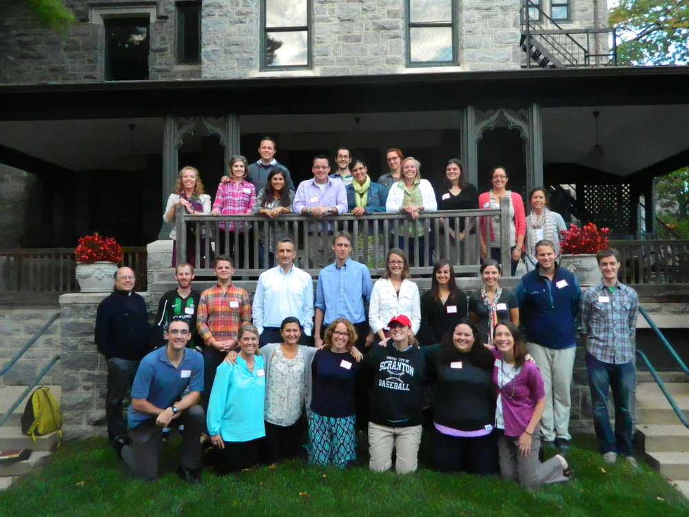CLA Participants in PHiladelphia, PA (Photo by The Jesuit Collaborative)