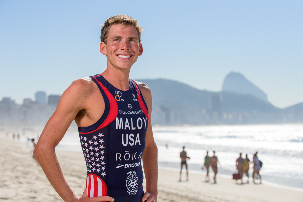 Joe Maloy (Boston College '08, '10) will compete for Team USA in the triathlon (Photo: joetriathlon.com)