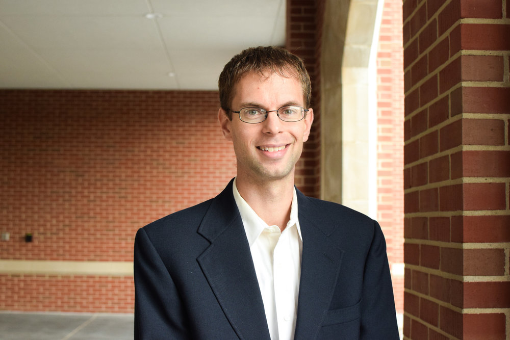 Dr. Colin Swearingen (Photo by John Carroll University)