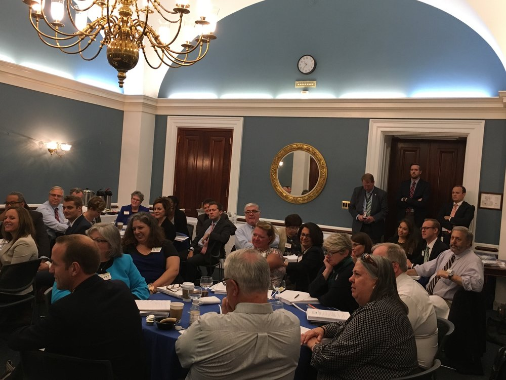 AJCU Federal Relations Conference Attendees at the U.S. Capitol