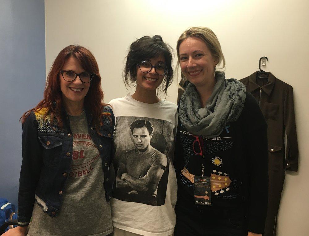 Megan Mullally, Stephanie Hunt and Deanna Howes (AJCU)