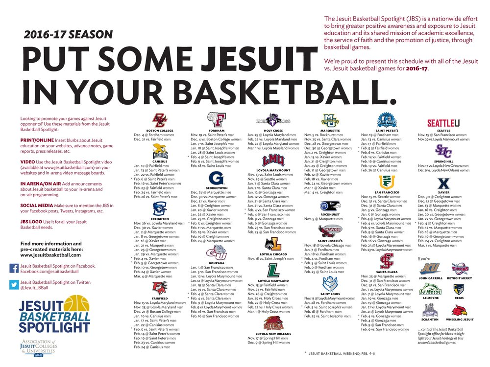 (Jesuit Basketball Spotlight)