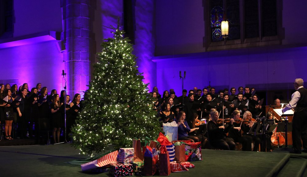 2016 Festival of lessons & Carols at Loyola University Maryland in Baltimore, MD (Photo by Loyola University Maryland)