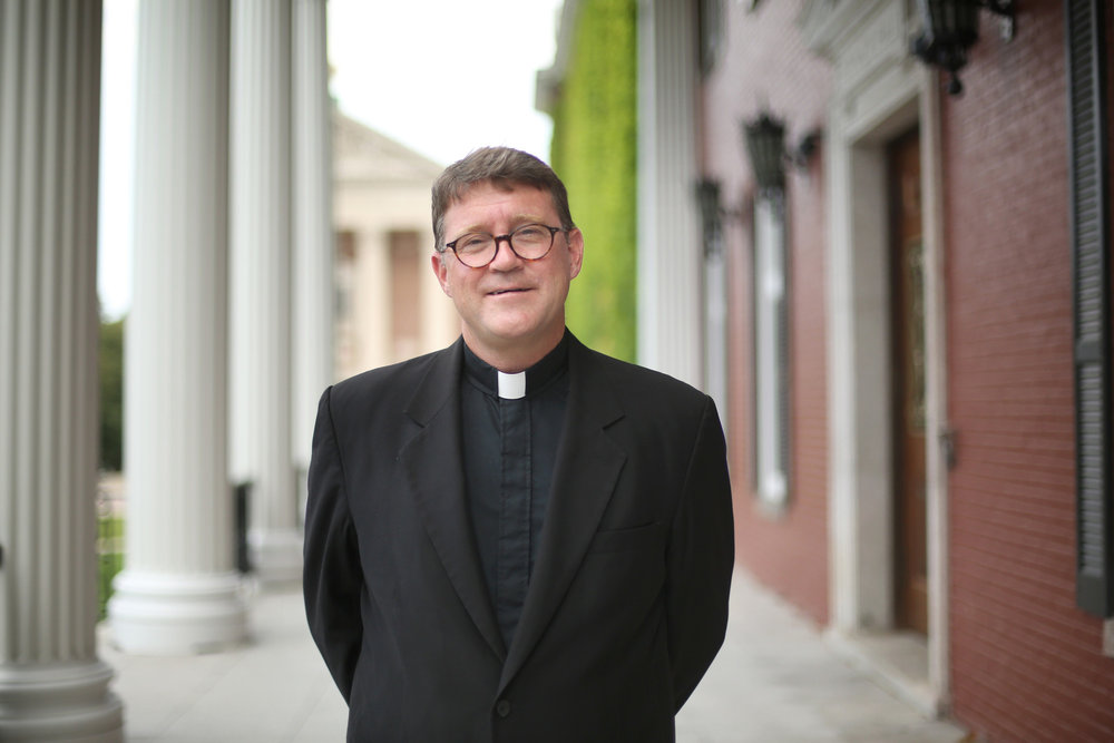 Rev. William R. Campbell, S.J. (Photo by College of the Holy Cross)