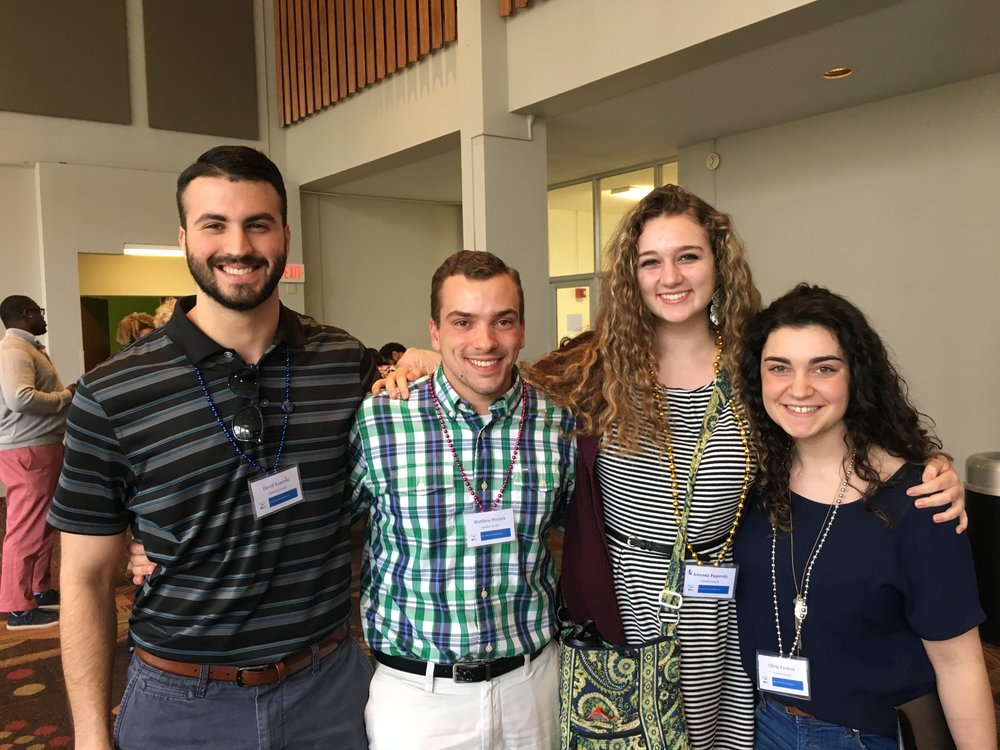 Canisius College Honors students