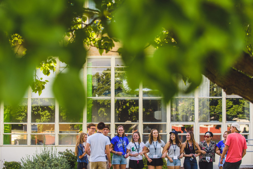 Orientation week at Gonzaga University (Spokane, WA)