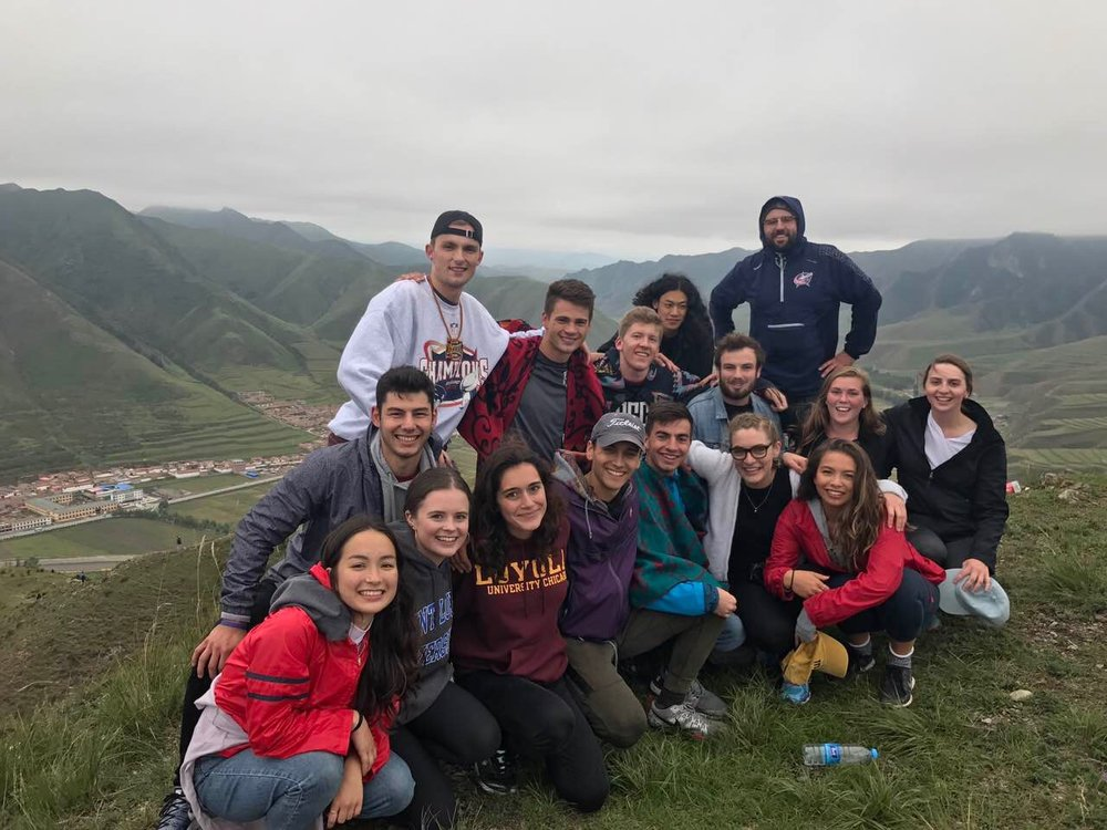 38 students from 13 AJCU schools, 2 students from 2 AUSJAL schools, and 1 student from 1 non-Jesuit university are studying abroad at The Beijing Center this fall (Beijing, China)