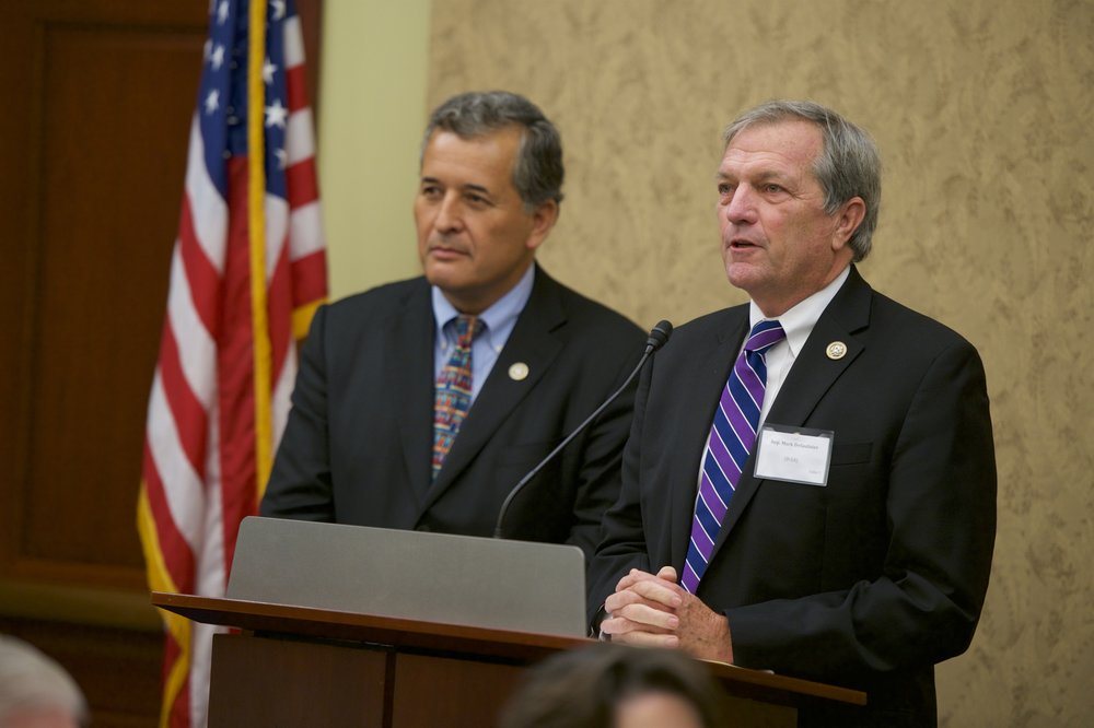 Representatives Juan Vargas (D-CA) and Mark DeSaulnier (D-CA)