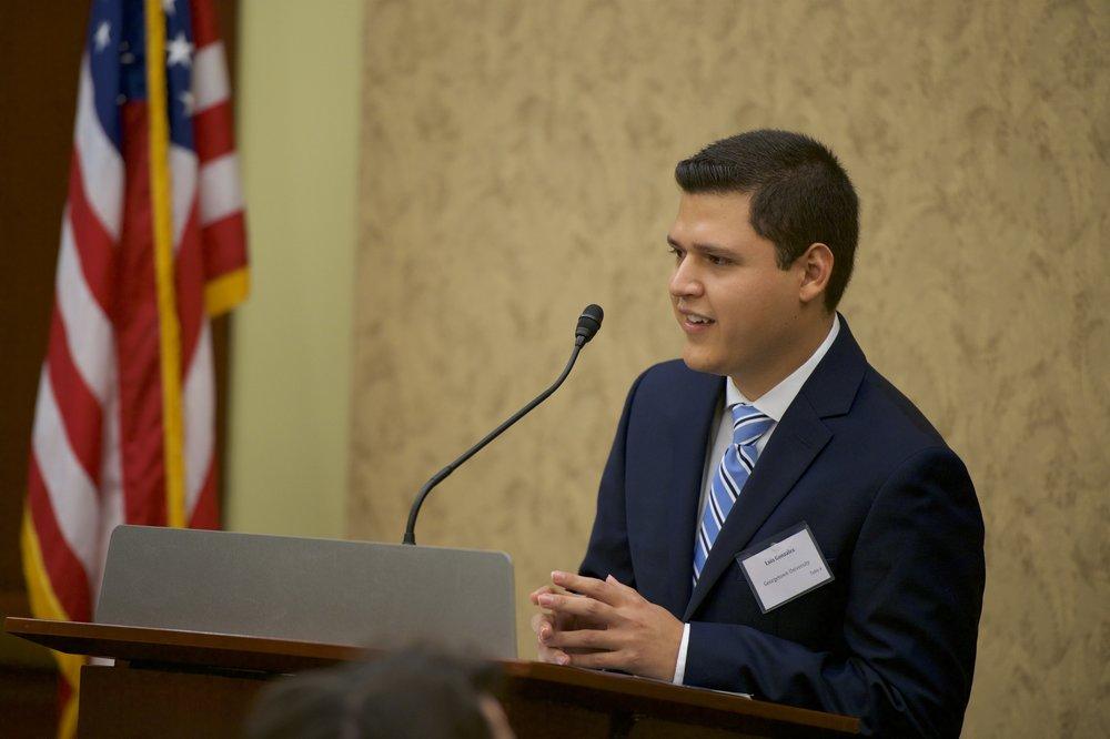 Luis Gonzalez (Georgetown University '20)